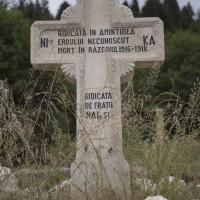 Lerești - Cimitirul Eroilor căzuți în Primul Război Mondial