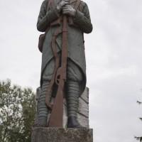 Boțești - Monumentul Eroilor căzuți în războiul de independență, primul și al doilea război mondial