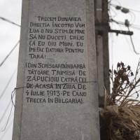 Priboieni - Monumentul Eroilor căzuți în războiul de independență, primul și al doilea război mondial