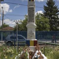 Colibași - Monumentul Eroilor căzuți în primul și al doilea război mondial