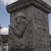 Lăzărești - Cruce memorială