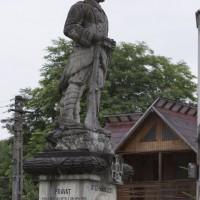 Albeștii de Muscel - Monumentul Eroilor căzuți în primul și al doilea război mondial