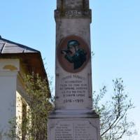 Pădureți - Monumentul Eroilor căzuți în primul război mondial