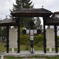 Țițești - Monument comemorativ dedicat Eroilor Primului Război Mondial - Troiță