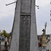 Bucșenești-Lotași - Monument comemorativ dedicat Eroilor Primului Război Mondial - Obelisc