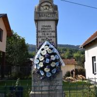 Mihăești - Monument comemorativ dedicat Eroilor Primului Război Mondial - Obelisc