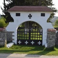 Șuici - Cimitir de onoare dedicat eroilor căzuți în Primul Război Mondial