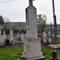 Călinești Vale - Cruce memorială