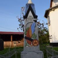 Bârseștii de Jos - Monumentul Eroilor căzuți în primul și al doilea război mondial