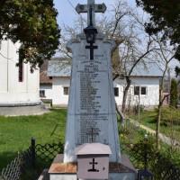 Enculești - Cruce memorială