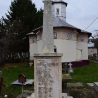 Bogați - Cruce memorială