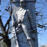 Mozăceni Vale - Monumentul Eroilor căzuți în primul și al doilea război mondial