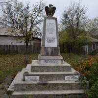 Izvoru de Jos - Monumentul Eroilor căzuți în Primul și al Doilea Război Mondial și în Războiul de Independență