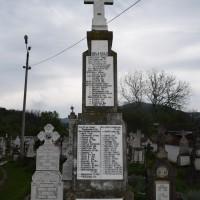 Coșești - Monumentul Eroilor căzuți în războiul de independență și în primul și al doilea război mondial