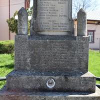 Ungheni - Monumentul Eroilor căzuți în primul și al doilea război mondial