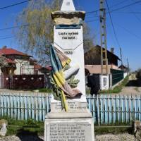 Buzoești - Monumentul Eroilor căzuți în primul și al doilea război mondial