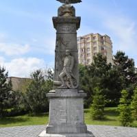 Pitești Găvana - Monumentul eroilor căzuți în primul război mondial