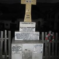 Bădeni - Cruce dedicată eroilor căzuți în Primul Război Mondial (1916-1918) și în Războiul de Independență (1877-1878)