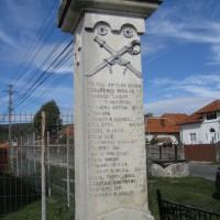 Valea Siliștii - Monument în cinstea eroilor căzuți în Primul Război Mondial (1916-1918) și în Al Doilea Război Mondial (1941-1945)