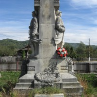 Bălilești - Monument în cinstea eroilor căzuți în Războiul de Independență (1877-1878), Primul Război Mondial (1916-1918) și Al Doilea Război Mondial (1916-1918)