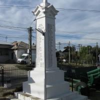 Mioveni-Racoviță - Monumentul Eroilor căzuți în Primul Război Mondial