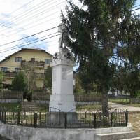 Conțești - Monumentul Eroilor căzuți în Primul și al Doilea Război Mondial