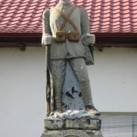Davidești - Monumentul Eroilor căzuți în primul și al doilea război mondial