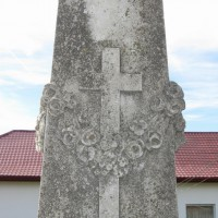 Bârzești - Monumentul Eroilor căzuți în Primul Război Mondial - Obelisc
