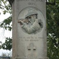 Râjlețu-Govora - Monumentul Eroilor căzuți în Primul Război Mondial