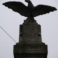 Tigveni - Monument dedicat eroilor căzuţi în primul război mondial