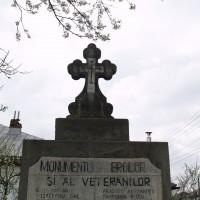 Negrași - Monumentul Eroilor și Veteranilor