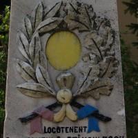 Teiu - Monument dedicat eroilor căzuți în primul război mondial (și al doilea)