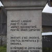 Cândești - Monumentul Eroilor căzuți în primul și al doilea război mondial