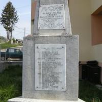 Valea Iașului - Monument în cinstea eroilor căzuți în Războiul de Independență 1877-1878, în Primul Război Mondial 1916-1918 și în Al Doilea Război Mondial 1941-1945