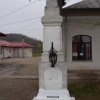 Glambocata - Cruce memorială pentru Eroii căzuți în Primul Război Mondial
