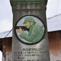Cerșani - Monument dedicat eroilor căzuți în primul război mondial