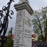 Țuțulești - Monument dedicat eroilor căzuți în primul război mondial