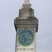 Gliganu de Sus - Monument dedicat eroilor căzuți în primul război mondial
