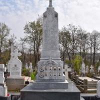 Gorganu de Sus - Cruce memorială