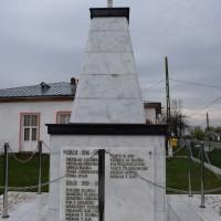 Gliganu de Jos - Monument dedicat eroilor căzuți în primul război mondial