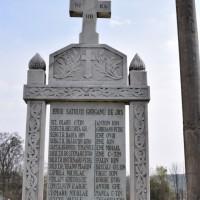 Gorganu de Jos - Cruce memorială