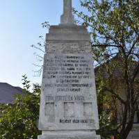 Cotești - Monument comemorativ dedicat Eroilor Primului Război Mondial - Stelă