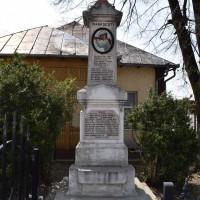 Vrănești - Monumentul Eroilor căzuți în primul război mondial