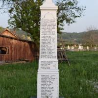 Burluși - Monumentul Eroilor căzuți în primul și al doilea război mondial