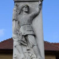 Ciupa Mănciulescu - Monumentul eroilor căzuți în primul război mondial