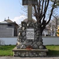 Pitești - Cimitirul de onoare al eroilor căzuți în primul război mondial