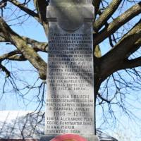 Urlueni - Monumentul Eroilor căzuți în primul război mondial