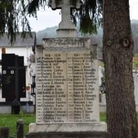 Păcioiu - Cruce memorială pentru Eroii căzuți în Primul Război Mondial și în Al Doilea Război Mondial