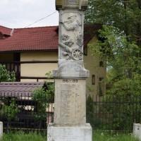 Argeșelu - Monumentul Eroilor căzuți în războiul de independență, primul și al doilea război mondial