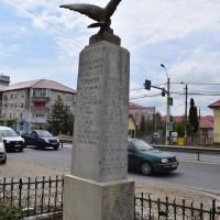 Mărăcineni Vale - Monumentul Eroilor din primul și al doilea război mondial